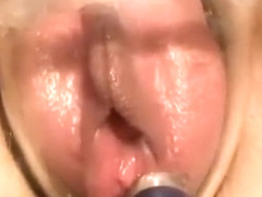 Chesty hot naked anime babe pussy fucked in close up