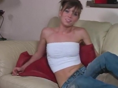 Little Sister Capri Makes the Loser Wank It