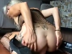 Hot and nasty ass to mouth dildo girl sub anal dildo