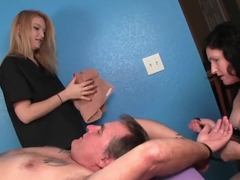 Cbt Masseuses Humiliating Their Client
