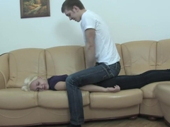 Exotic pornstar Kristina First in horny blonde, college xxx video