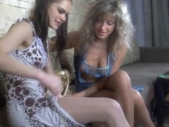 EPantyhoseLand Clip: Colette and Nora