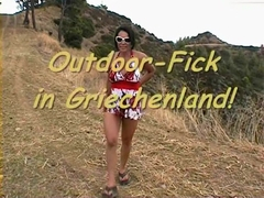 Outdoor-Fick in Griechenland!