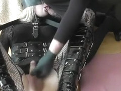 Hottest amateur shemale scene with Fetish, Dildos/Toys scenes