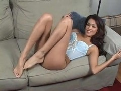 Daisy Marie Worships her own perfect feet