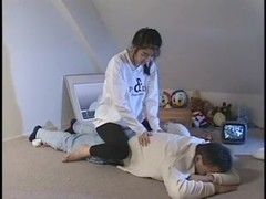 XXX massage video with a hot Asian chick
