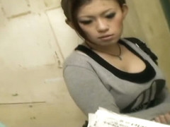Amazing Asian downblouse spy cam video
