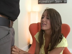 Angelica Lane Swallows Every Last Drop!