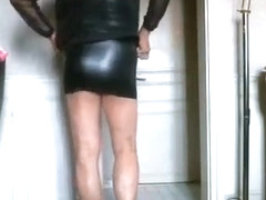Amazing homemade shemale scene with Latex, Redhead scenes