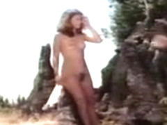 China Leigh, Blair Harris in Cave Woman