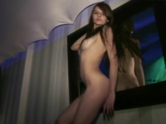 WIFE MATERIAL super hot girl 100% naked in nightclub