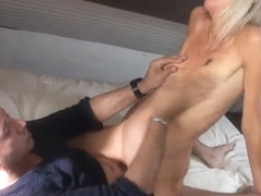 Small tits mature hardcore with facial