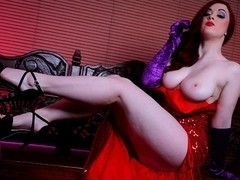 Jaye Rose in Who Face Fucked Jessica Rabbit? Scene