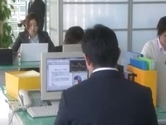 Hottest Japanese chick Ai Haneda in Exotic Office JAV video