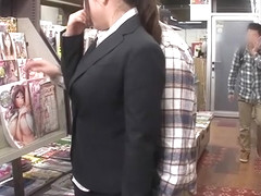 Crazy Japanese whore in Exotic Public, HD JAV movie
