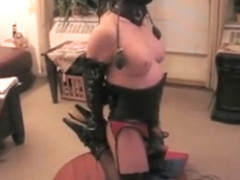 Fabulous homemade shemale movie with Solo, Fetish scenes