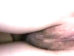 Slow motion urinating vagina in close up