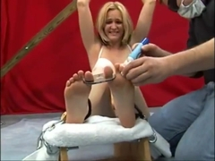Layla Foot Tickle Challenge