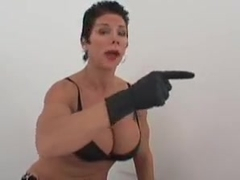Fitness femdomme ass fuck instruction 2