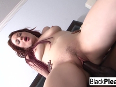 Jessica Ryan in Sexy Redhead Jessica Can't Get Enough Interracial - BlackPlease