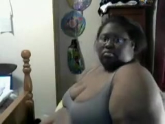Thick SSBBW Black Goddess BBWShadeXXX All Oiled Up
