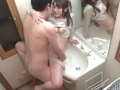 Horny Japanese whore in Exotic HD, Public JAV clip