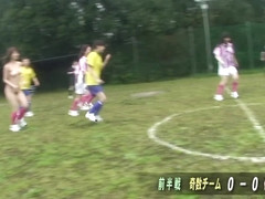 The Girl Soccer team gets used up and fucked hard - AviDolz