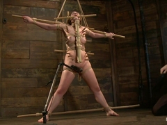 John Henry & Charlotte Vale in Charlotte Submits To The Bamboo... - HogTied