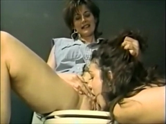 Old young lesbian - rough sex in jail