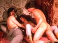 Exotic creampie classic movie with Rosl Mayr and Judy London