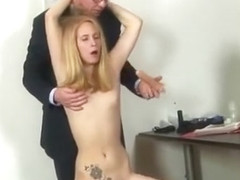 Hardcore job interview for a secretary