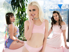 Jenna Sativa & Georgia Jones in Showcases: Chloe Cherry - 2 Scenes in 1, Scene #01 - GirlsWay
