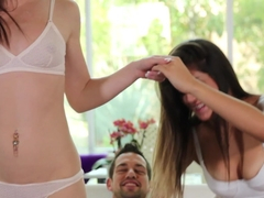 Natalie Monroe & Emma Stoned. Take It Off - Passion HD