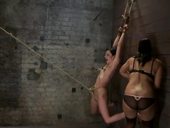 Brutalize her with a massive dose of tickling. Boy does she hate every second! C5 suspension