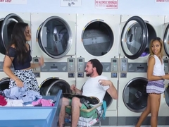 Adrian Maya And Xianna Hill In Laundry Day