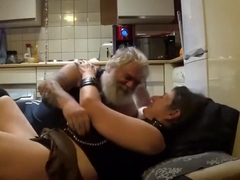 Older Biker Fucks A Hot Milf