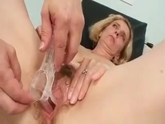 Nasty Blonde Housewife Gets Horny