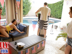 Rosalyn Sphinx & Whitney Wright in Fourth Of July Family Fuck - NUBILESPorn