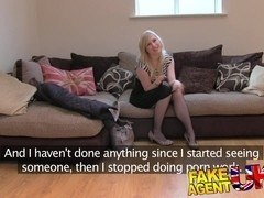 FakeAgentUK: Sweet blonde desperate to get back into the business