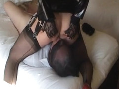 Best Homemade Shemale record with Ass to Mouth, Lingerie scenes