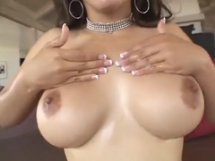 Filipina gargles and swallows black sperm