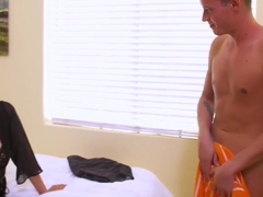 Voluptuous MILF Julia Ann loves young cock 1080p
