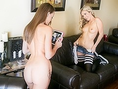 Kacy Lane & Karla Kush in Fucking Is Better Than Studying Video