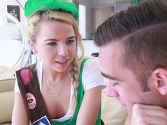 TeenPies - Petite Girlscout Gets A Creampie Surprise