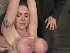 Berlin and her massive breasts are back. Great breast bondage and hardcore Orgams.