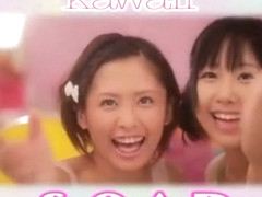 Horny Japanese whore Kokoro Kawaii, Yuki Natsume in Incredible Lesbian/Rezubian, Blowjob/Fera JAV .