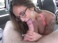 Layla London in Layla Gets The D - BangBus