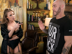 Britney Amber & Derrick Pierce in The Critic, Scene #01 - NuruMassage