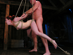 Mark Davis  Trinity Post in Trinity is amazing in first time boy/girl bondage sex. - SexAndSubmiss.