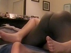 Round curvy blond enjoys some BBC